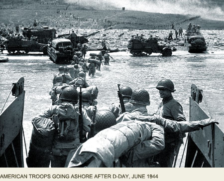 American Troops D-Day